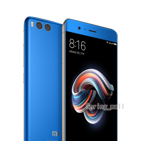 "Global ROM Xiaomi Mi Note 3 Mobile Phone 6GB RAM 128GB ROM Snapdragon 660 5.5""Four Side Curved Glass Dual Rear 12.0MP Camera"
