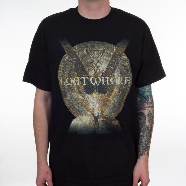 Goatwhore A Haunting Curse Camiseta S M L Xl 2xl Nuevo oficial