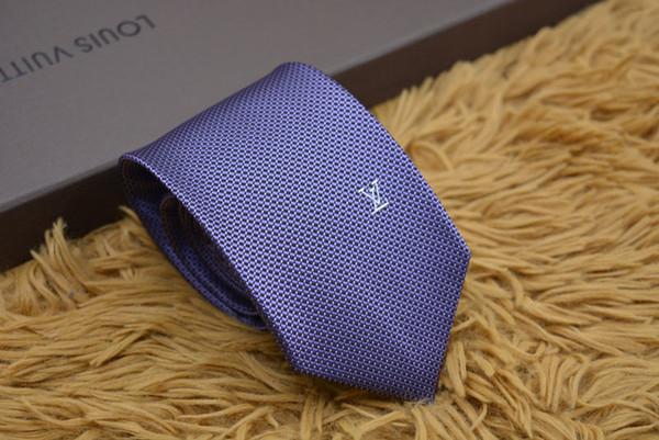 Мужские галстуки 100% шелковый галстук мужской галстук сторона шеи галстуки бизнес случайный галстук коробка подарка упаковка 12 стиль L1210