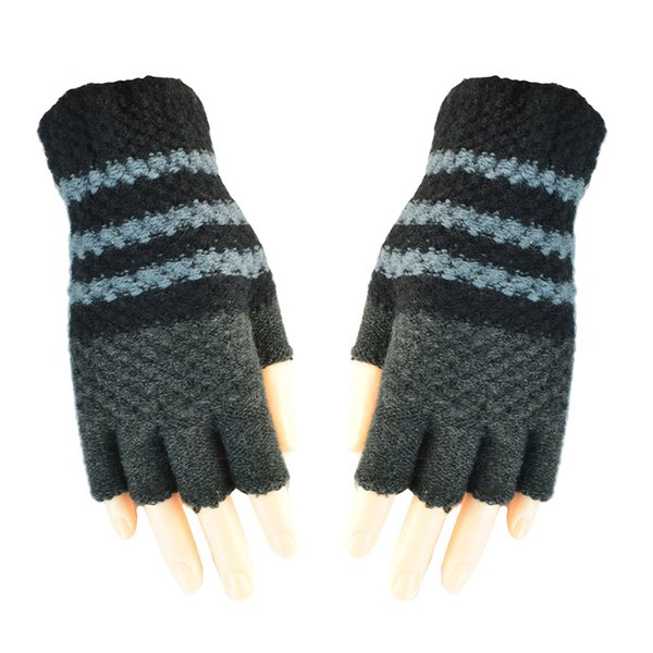 Unisexy Knitted Glove Fingerless Fitness Gloves Warm outdoor Fingerless Knitted Gloves For Winter/Autumn/Spring DHL Free 100pcs