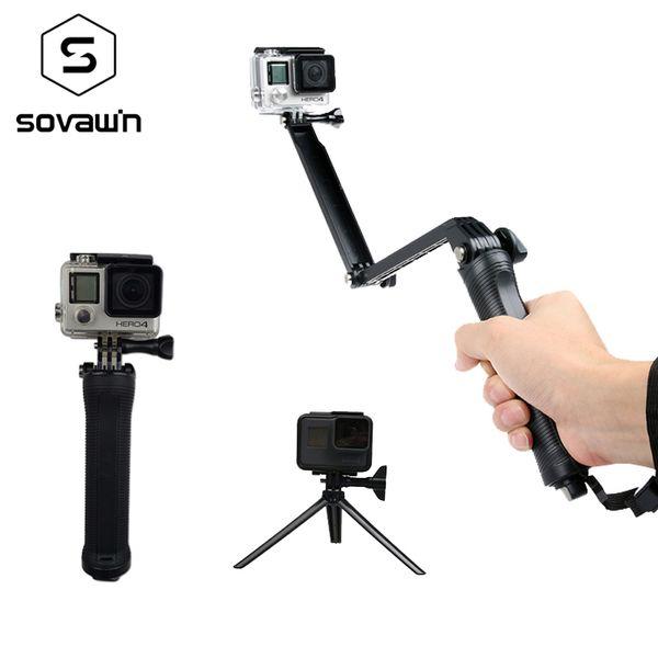 Action Video Cameras Stick Waterproof Go Pro Selfie Sticks For Hero 3 4 5 Q190618