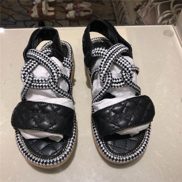 Avrupa Marka erkek ve kadın moda baskı deri slayt sandalet yaz açık plaj Ayakkabıları nedensel terlik