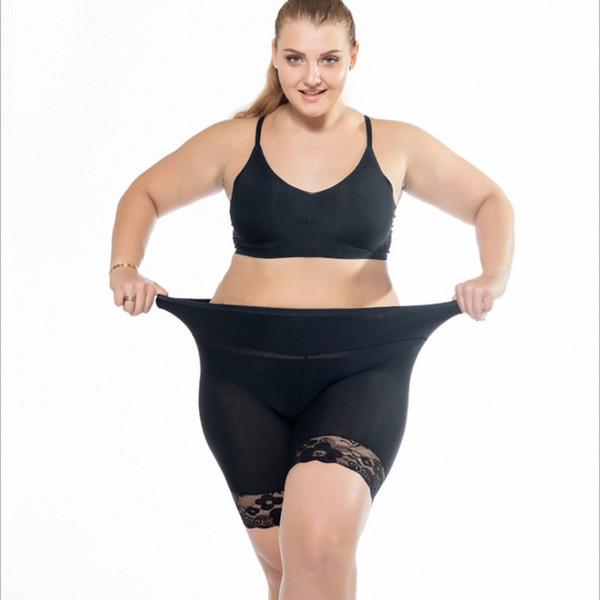 New Sexy Plus Size 3XL Women Boyshorts Panties Shorts 2019 Boxer Lace Underwear Ladies Large Big Black Khaki women's shorts