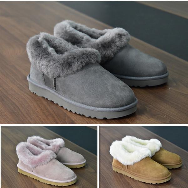 chaud à haute 2020 meilleures bottes de concepteur dames Australie hiver pour aider des bottes de neige bottes courtes arc chaussures pour hommes pois plat classique uf3631