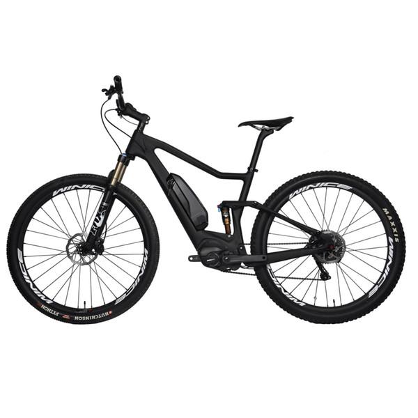 SERAPH 36V Ebike Frame 29er Boost 148 * 12mm Full Suspension Mountain Bicicletta elettrica Frameset E-02con Shiman0 Motorset