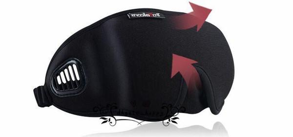 Cute Little Animal Shading Sleep Patch Icehot Compress Cinturón de parche de viaje puede ser ajustado máscara de ojo