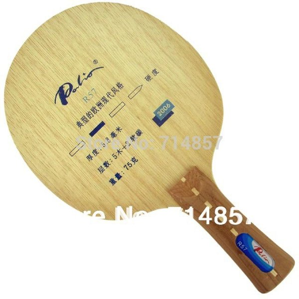 Palio R57 (R 57, R-57) soft carbon table tennis / pingpong blade