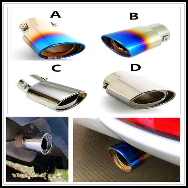 auto Stainless Steel Car Exhaust Muffler ponta da cauda tubo de tampa de recarga Heico Caresto T6 Infiniti V60 XC60 S60