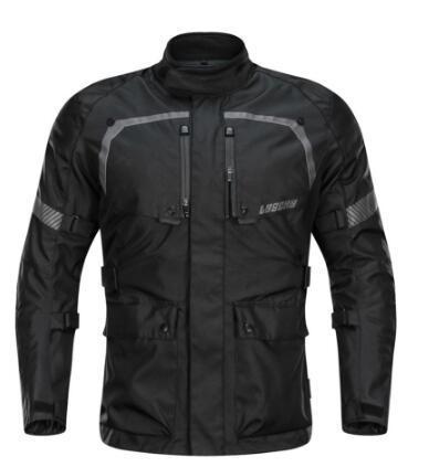 LYSCHY Touring Motorcycle Jacket Moto Riding Suit Protection Enduro Clothing Man Coat Body Armor Chaqueta Men Jackets Pants