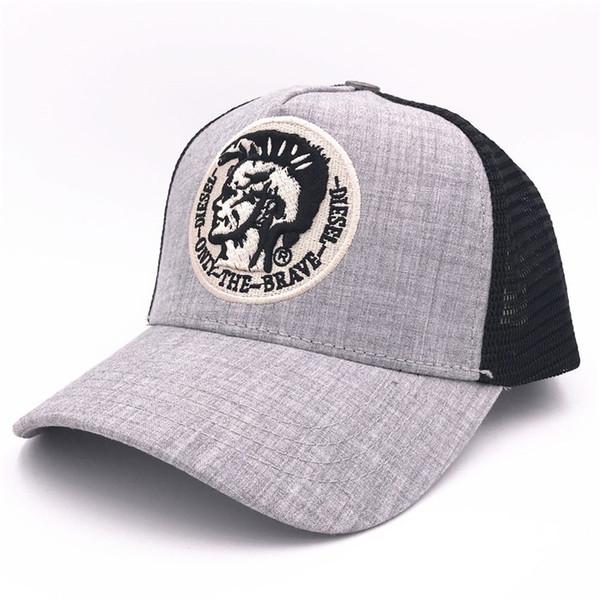 Diseñador de la marca Gorras de béisbol Moda de primavera Sombreros del Snapback Sombrero de malla de malla de verano Hombres Hombres Mujeres Hip Hop Sombrero regalo de cumpleaños