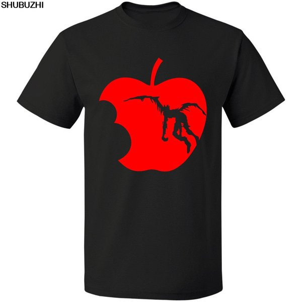 Compre Muerte Nota Vintage Impreso Luz Ryuk Silueta Tee Envío Gratis Shubuzhi Nueva Camiseta Hombres Manga Corta Camiseta Top Camiseta A $40.06 Del