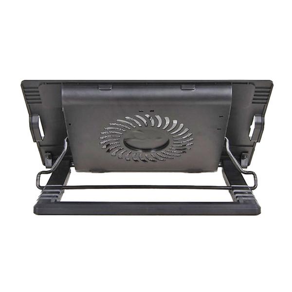 2 USB Portları Yüksekliği Ayarlanabilir Altında Standı 15.6 Inç Ultra Sessiz Taşınabilir Dizüstü Antiskid Oyun Dizüstü Soğutucu Braketi Bilgisayar