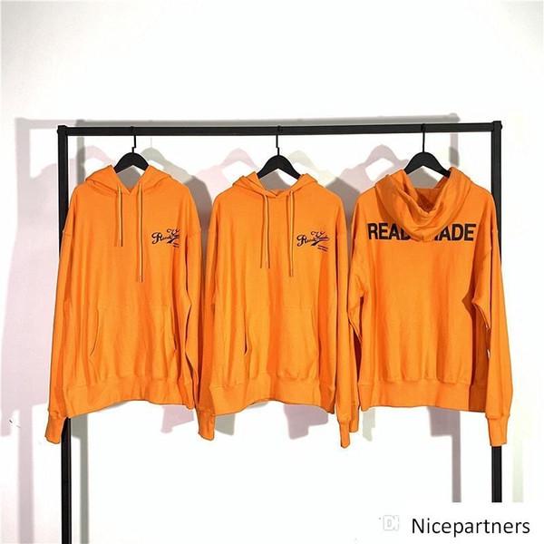 carta suéter readymade impreso sudaderas con capucha para hombres y mujeres de la calle marea hip hop suelta S-L