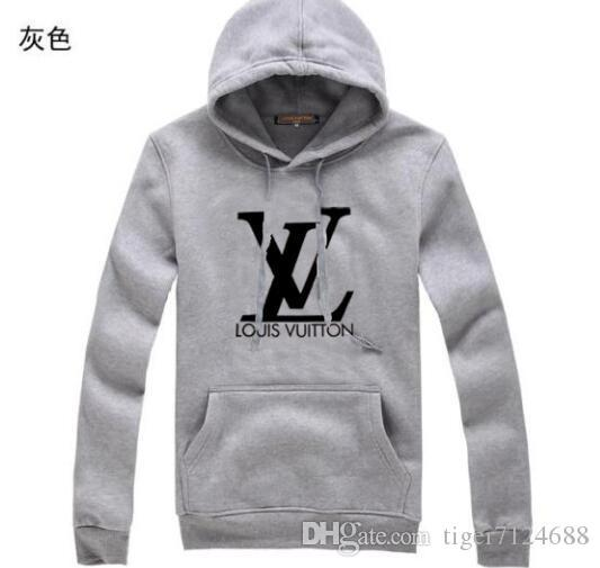 Marke Pullover 2019 Designer Männer Hoodie Sweatershirt Pullover Herren Pullover Luxus L Kleidung Thin Langärmlig Jugendbewegungen Streetwea