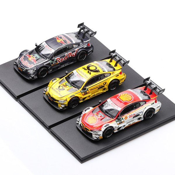 (Boxed) racing model simulation alloy car model 1:43 car decoration
