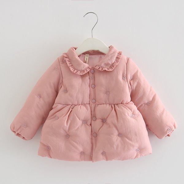 Infant Girls Coat 2019 Autumn Winter Jacket For Baby Girls Kids Warm Christmas Outerwear For Baby Jacket Newborn Clothes 0-2Y
