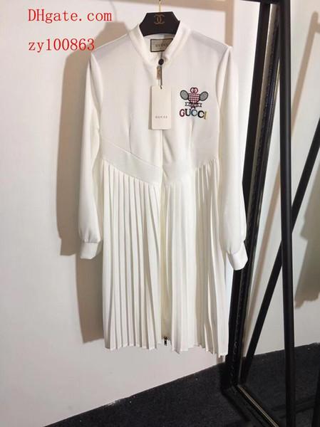 2019 новый бренд летние платья вышивка буквы женская одежда блузки комбинезоны комбинезон высокое качество женская одежда плюс размер платья