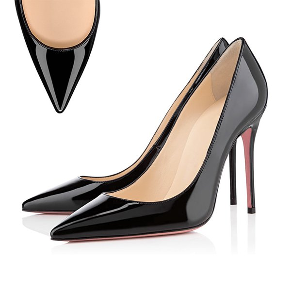 Chaussure pointue Noir