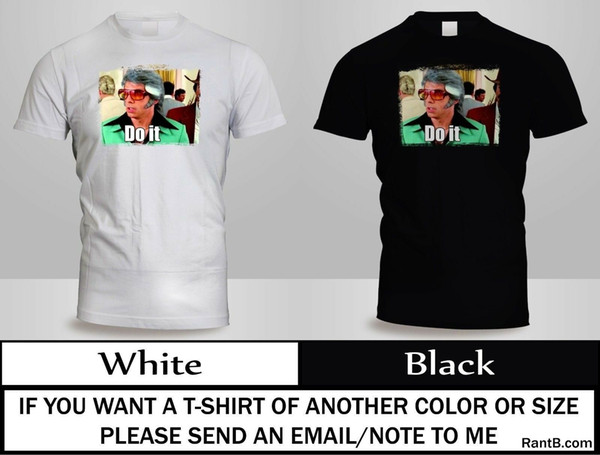 DO IT STARSKY AND HUTCH BEN MOVIE COMEDY STILLER T-SHIRT MENS BLACK&WHITE TEE 3Funny free shipping Unisex Casual Tshirt