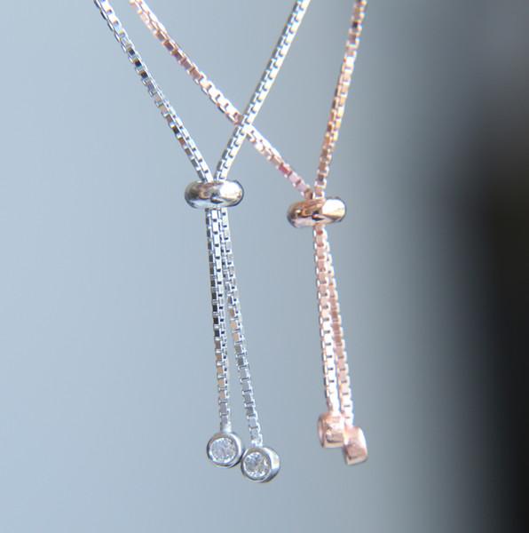 Gros chaîne petit bracelet main Hamsa pavé cz 925 en argent sterling de haute qualité de la chance de jolies femmes fille bijoux cadeau
