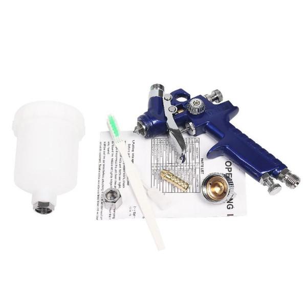 0.8mm / 1mm Nozul Hava Tabanca Mini Airbrush İçin Duvar Araç Dövme Manikür Boyama Kompresör 150ml Kupası Dekorasyon Boya