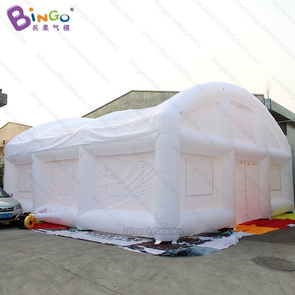10X10X5 meters inflatable white tent / white wedding tent / inflatable white marquee tent for sale- toy tents