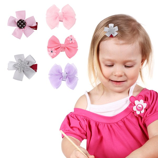 Аксессуары Симпатичные заколки для девочек Модные детские цветы Заколки для волос заколки для девочек Мультипликационные заколки для волос Детские заколки для волос