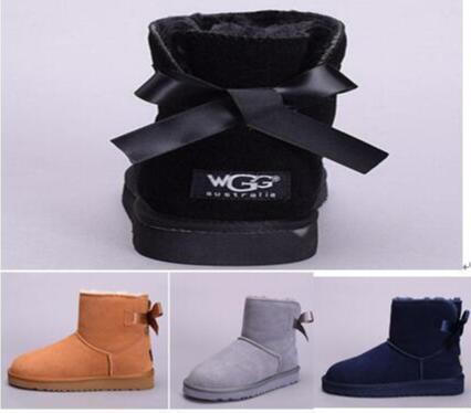 2019 mulheres bota Austrália designer Clássico botas de neve WGG genial meia Bota ankle boots Preto Cinza castanha azul marinho vermelho menina sapatos