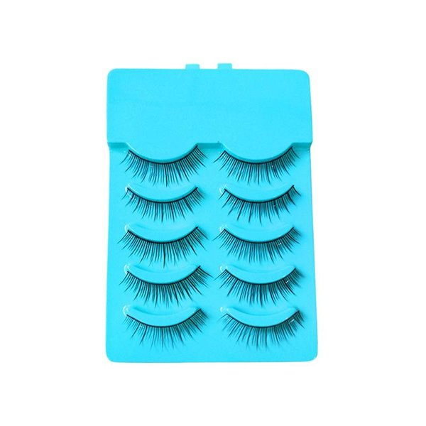 5 Pairs Women Long False Eyelashes Fake Lashes Extension Makeup Accessories for Party Nightclub