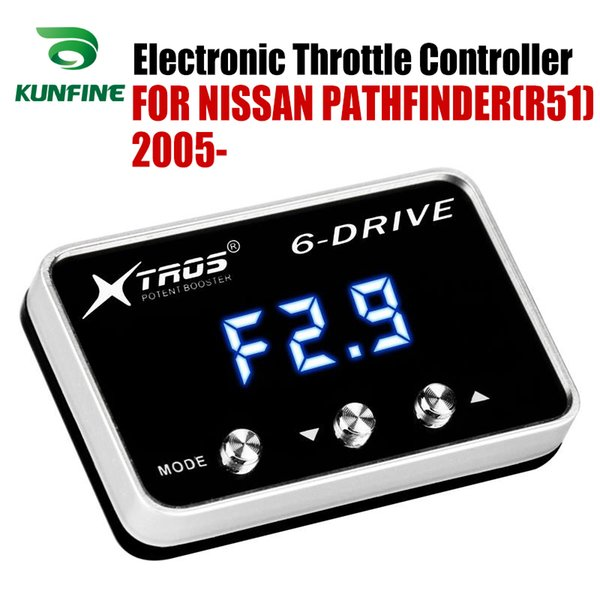 Carro eletrônico do acelerador controlador Corrida Accelerator impulsionador potente para Nissan Pathfinder (R51) 2005 2006 2007 2008 Ajuste peças acessórias
