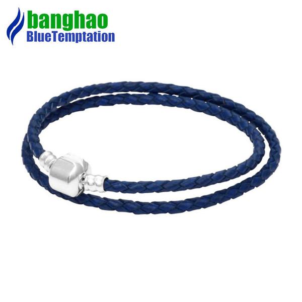 bracelet charms silver joyas de plata 925 original perles pour la fabrication de bijoux jewelry blue bracelets for women