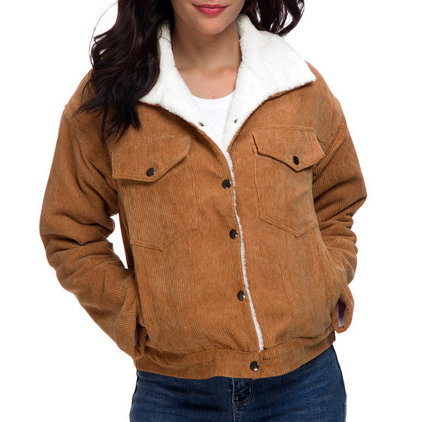 Faux Fur Women Thick Lining Winter Jacket | Long winter