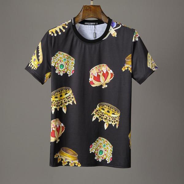 Marken Hip Hop DG Letter Herren T-Shirt Shorts Baumwolle Tops T-Shirt Poloshirt Herren T-Shirt 3g Designer Herren Damen T-Shirts 15513