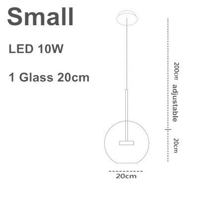 20 cm 1 bicchiere