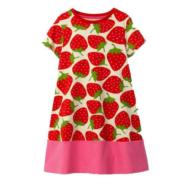 Baby Girls Summer Dress Tunic Jersey 2019 Brand Girl Princess Dress Children Clothes Carnaval Cotton A-Line Dresses Kids Costume