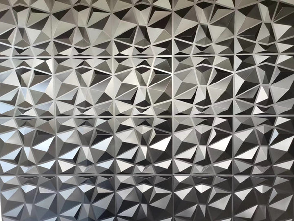 Spa covering products panels No bad smell ModernModern art 3D wall panels decorative thermoforming plastic 3d pvc tile wallpaper for home de rich color China export 3d wall art panels for home decor