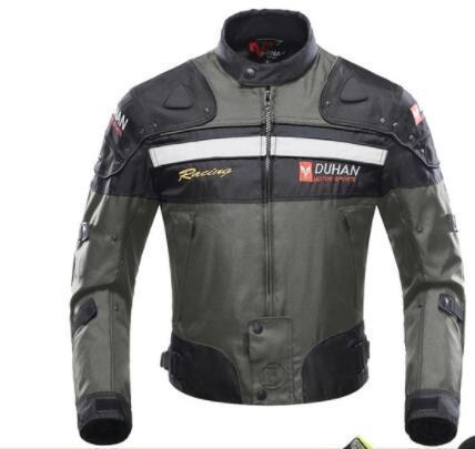 Оптовая духан ветрозащитный мотоцикл гоночный пальто защитное снаряжение броня мотоцикл куртка мотоцикл брюки хип протектор Мото комплект одежды