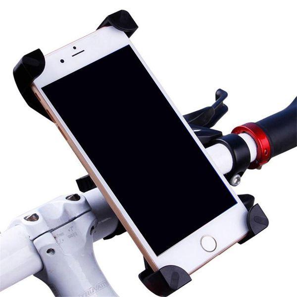 Evrensel 360 Dönen Bisiklet Bisiklet Telefon Tutucu Gidon Klip Perakende Paketi Ile Akıllı Cep Cep Telefonu Için Montaj Braketi Standı