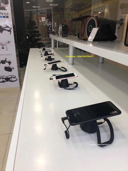 alarm Security and Charging Mobile Phone Display Stand for Retail Shops or Exhibitions