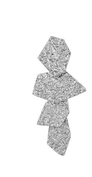S925 Argent Aiguille Euro-Américain Simple 2018 Nouveau Défilé De Mode Boucles D'Oreilles Ins Personnalité Euro-Américain Oreille Ongles Boucles D'oreilles Usine Une Livraison