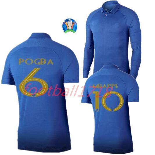 cup 1919 2019 Centenaire soccer jersey HENRY long sleeve shirt 19 20 MBAPPE GIROUD kante maillot de foot ZIDANE football shirts POGBA