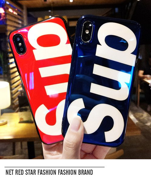 Fashion Sup Case Stripe Luxury Cell Phone Case With Finger Band Holder Protection Cases For iPhone X 8 7 Plus Boy Girl Gift