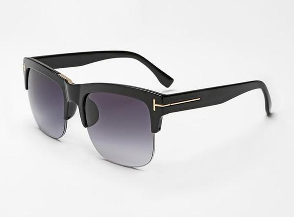 Top fashion люкс дизайнер TF16 солнцезащитные очки бренда для мужчин и женщин квадратное большое зеркало очки очки солнцезащитные очки бесплатная доставка