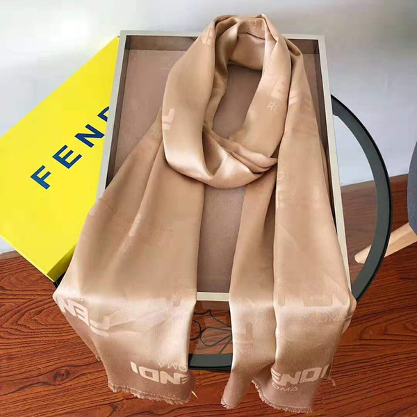 Hot style long scarf, tencel cotton material, soft feel, classic pattern, fashion versatile, size;180 * 70 cm