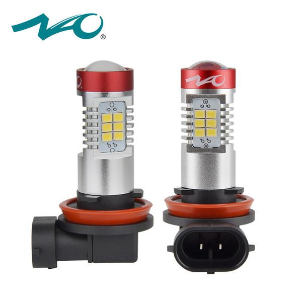 Nao H11 Led Bulb Fog Lights 12v H8 White Car H9 Lamp 2835 Chips Drl Daytime Running Lights Best Fog Lamps For Car Best Fog Light From Bdauto 20 33