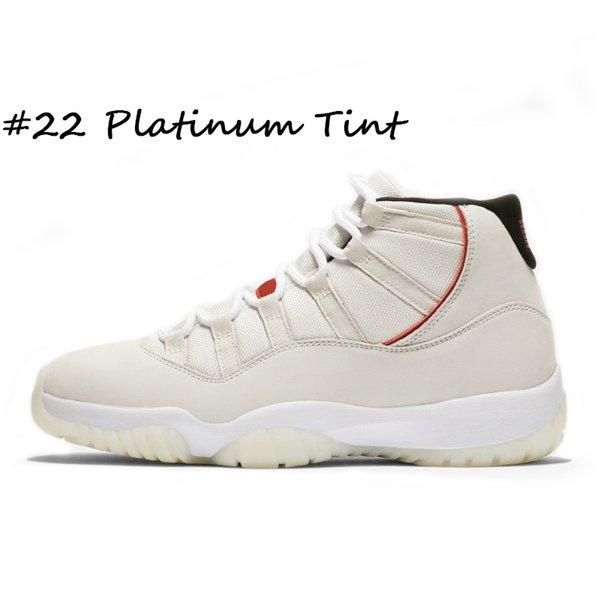 # 22 tinte de platino