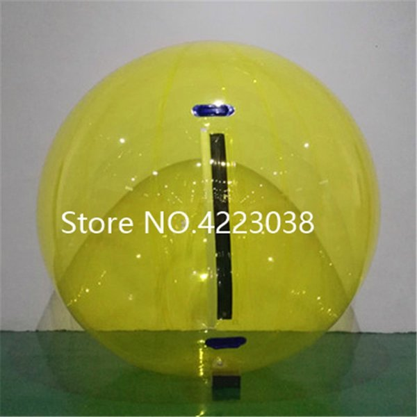 Free Shipping 0.8mm PVC 2m factory transparent walk on water ball,inflatable water walking ball,Zorb ball for water pool