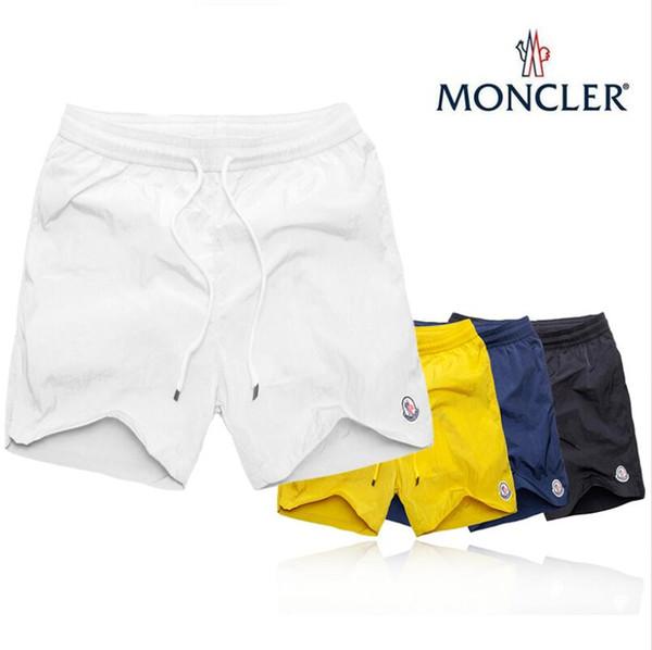 Calças de Brim Dos Homens Designer Marca Meng Kou Calças Dos Homens Troncos Board Shorts De Natação de alta qualidade Marca de Moda Esporte Calças Curtas Corredores