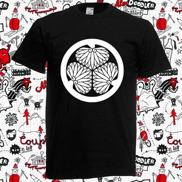 Nouveau symbole du clan Tokugawa T-shirt Cool xxxtentacion marcus et martinus t-shirt discout chaud nouveau top livraison gratuite t-shirt