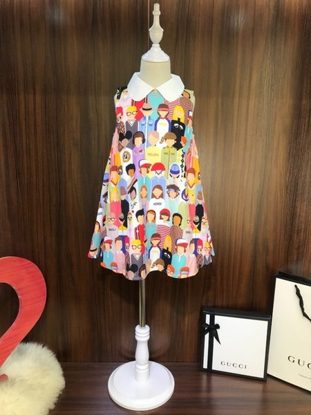 La última ropa de verano del chaleco vestido de moda refrescante moda linda ultra-delgada tela transpirable comodidad